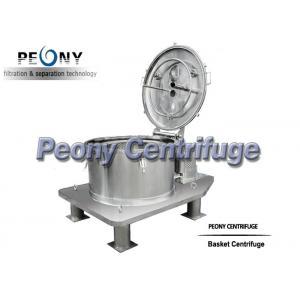 Quality Systèmes pharmaceutiques de centrifugeuse d'équipement/décanteur de centrifugeuse de décharge de dessus de plat for sale