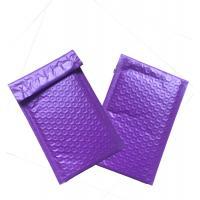 Purple 6x9 Poly Bubble Wrap Padded Envelope Hot Melt Adhesive Glue Custom Size