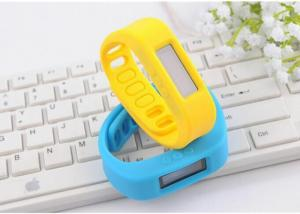 China Flex Bluetooth Fitness Bracelet For Apple iPhone , Yellow Bluetooth Wrist Bands on sale