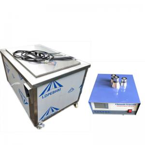 China Degreasing Industrial Ultrasonic Cleaner 28khz/40khz/80khz With Frequency Sweep on sale