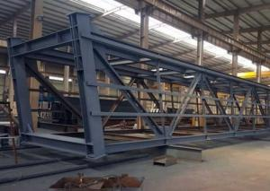 China Large Steel Structure High Rise Building , Strong Steel Structure Industrial Building on sale