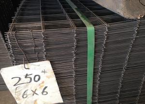 China Industrial Welded Wire Cage Panels , Tunnel Rigid Wire Fence Panels on sale