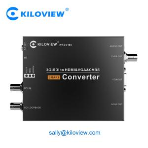 China HDMI VGA CVBS to 3G SDI live broadcast video converter UP/Down video converter on sale