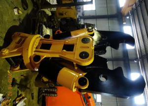 China Cat Pillar 330 Hydraulic Shears For Excavator 80mm Thick Hardox450 2200 Kg on sale