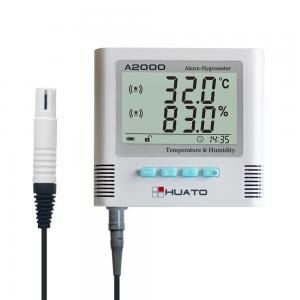 China High Accuracy Lcd Digital Temperature Humidity Meter Thermometer For Home / Office on sale