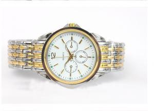 China Reloj del metal de los hombres, reloj de la correa del acero inoxidable del cuarzo de la moda on sale