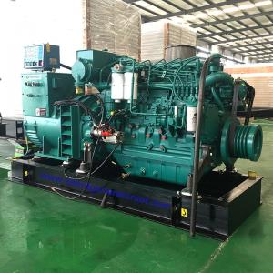 China Air Cooling Cummins Marine Diesel Generator Set With Pre - High Water Temperature Alarm on sale