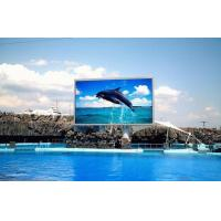 China High resolution P10 outdoor advertising DIP led display screen on sale