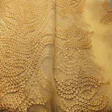 China Embroidery lace fabric / Bridal french lace fabric/ Wedding dress lace suppliers on sale