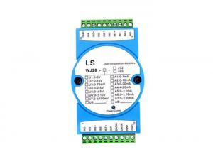 China 8 Channels Analog Inputs 4-20mA Or 0-5V Input to Rs232 Rs485 Output on sale