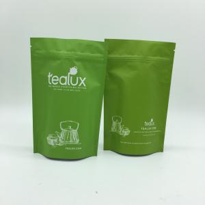 China o alu do bloco do chá da folha do alumimum terminou o saco de plástico de chá do vácuo, saco enfield do alimento on sale