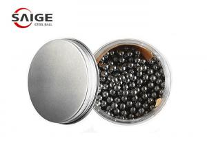 China 3 / 16 '' Dia Grade 25 440C Stainless Steel Balls High Hardness And Fine Grain Structure on sale