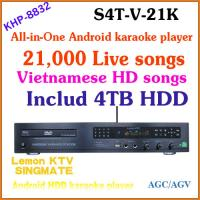 21K Vietnamese HD songs include 4TB HDD, 2015 Professional Family Karaoke machine +w/ built-in DVD player