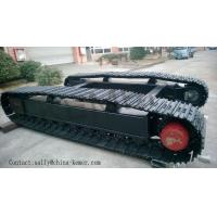 Steel Crawler Chassis/crawler track undercarriage ( for Excavator/Crane/Drilling Rig/compressor etc)