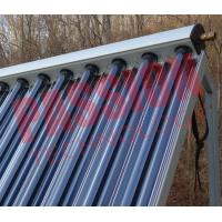 Aluminum Alloy Heat Pipe Solar Collector For Low Temperature Area 15 Tubes