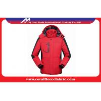 Windproof Womens / Mens Outdoor Jackets And Coats Climbing Outdoor Clothing
