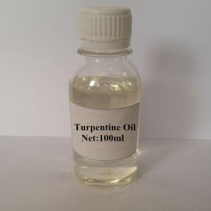 China 100% Natural Turpentine Oil on sale