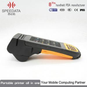 China Handheld Barcode Scanner Mobile Fingerprint Scanner Industrial PDA All In One on sale