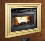 Multi Purpose Insert Wood Pellet Boiler Stove Comfortable Radiate Connection