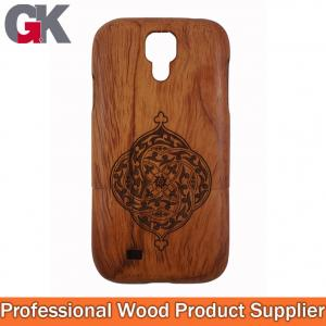 China wood phone covers for galaxy s4 i9500, for samsung galaxy s4 bamboo case on sale