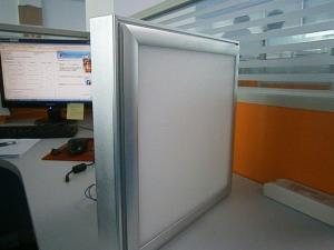 China Aluminum Shell Square Recessed Led Panel Light Ip54 For Shop With 4 Sides Lighting on sale