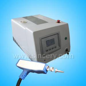 China Mini Q-Switched ND YAG Laser Tattoo Removal Pigmentation Clear on sale