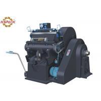 China ML Corrugated Box Die Cutting Machine  , Die Punching Machine Board Cutting on sale