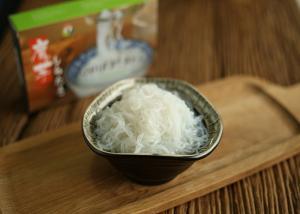 Edible Fiber Konjac Shirataki Noodles No Calorie , Healthy Slim