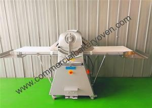 China White Electric Bread Dough Sheeter Roller Reversible Two Way Pressing on sale