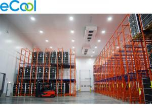 China 12 Meter High Frozen Food Cold Room Warehouse /Custom Chilled Storage For High Racking System on sale