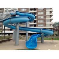 Outdoor Fiber Glass Kid Water Slides , Aquasplash Open Water Slide 6m - 8m