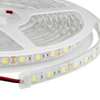 7.2w 12 Volt SMD5050 30LEDs/m Flexible Led Strip Lights For Home , White Color 7500K