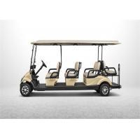 8 Seater Yamaha Electric Golf Cart , Club Car Golf Buggy With Rear Facing Seat
