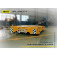 AC Powered Trackless Material Transfer Cart / Rail Transfer Cart For Paper Making