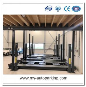 China Hot Sale! Car Lifts for Home Garages/Cantilever Carport/Vertical Storage System/Portable Mechanical Car Lifter on sale