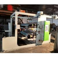 70 M / Min Two Colour Flexo Printing Machine , Paper Printing Press Machine