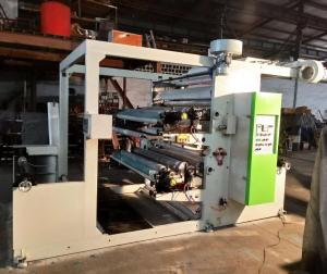 China 70 M / Min Two Colour Flexo Printing Machine , Paper Printing Press Machine on sale