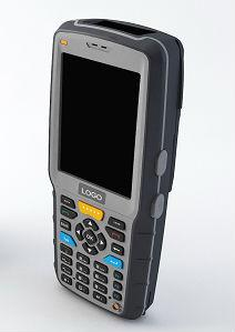 China Handheld uhf rfid reader for bus ticketing system(EMT35) on sale