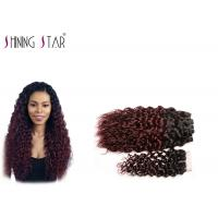 3 Bundles Water Wave Hair Extensions Human Hair Can Be Dyed 1B BUG Color