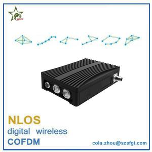 China 16 nodes COFDM nlos video and data transceiver wireless IP MESH on sale