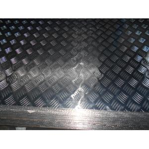China Aluminum Embossed Sheet / Plate For Construction 0.08~0.25 Embossing Depth on sale