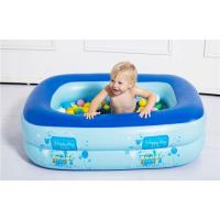 China Inflatable Baby Swimming Pool Eco-friendly PVC Portable Children Bath Tub Kids Mini-playground 110X90X35cm on sale