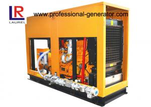 China Soundproof 60Hz Biogas Generator Set 160kw 200kVA CHP Use with  6 Cylinder in Line on sale
