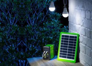 China Commercial Solar Light Kits Outdoor  / 5W  Solar Panel Light Bulb Kit on sale