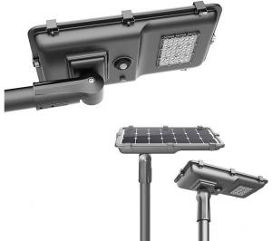 China Unique 20w Solar LED Street Light / Solar LED Garden Lights For Train Station on sale