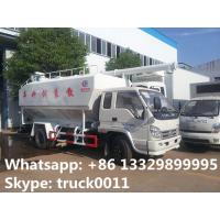 forland RHD mini bulk lickstock and poultry feed transported truck for sale, best price 4tons animal feed pellet truck