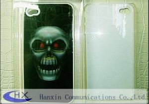 China 3D Lenticular Sticker Plastic iPhone 4 Hard Cases Back Covers on sale