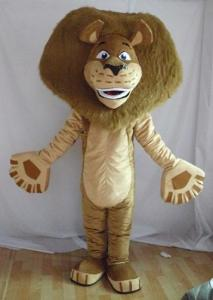 China Madagascar Animal Mascot Costume on sale