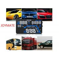 Vehicle mounted black HUD Head Up Display with OBD Projection adaptive cruise control