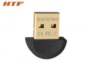 China Laptop Bluetooth Dongle Transmitter 4.0 , Wireless Bluetooth USB Adapter For PC on sale